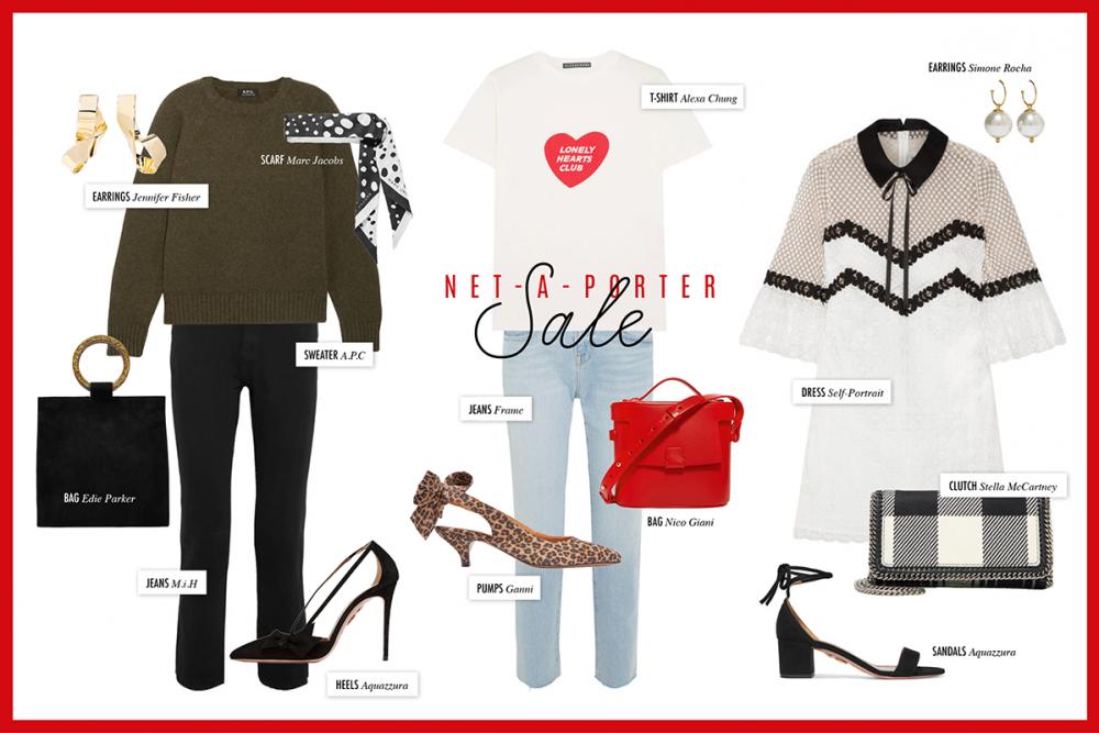 Net-A-Porter Sale / Fashion Blog Hanna Schumi
