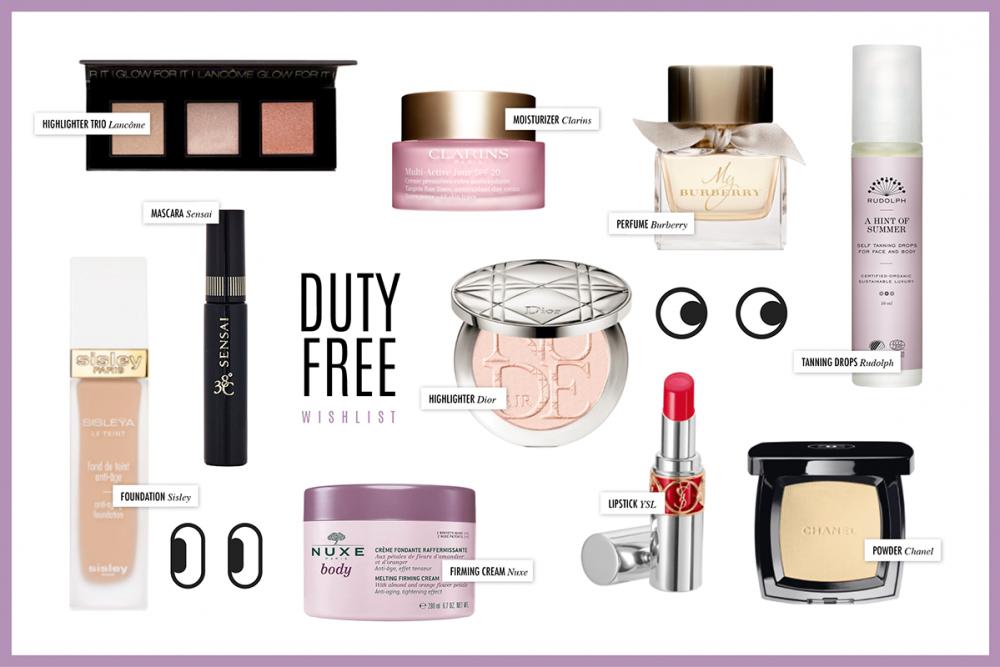 Duty Free Beauty Wishlist / Beauty Blog Deutschland Hanna Schumi
