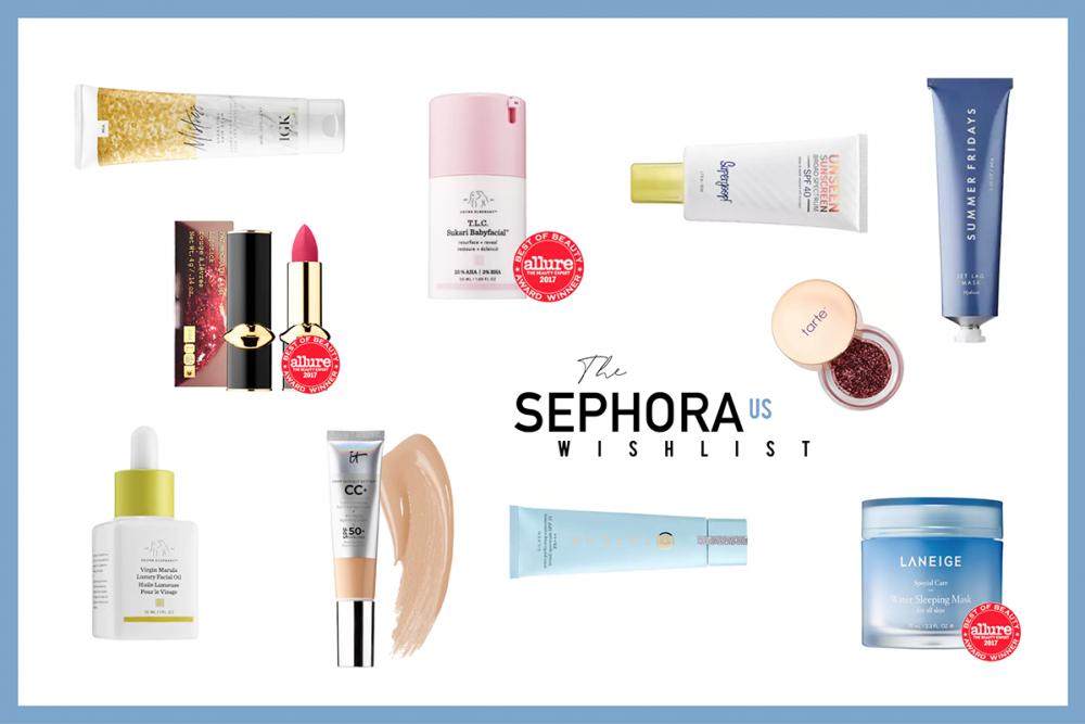 Sephora US Wishlist Beautyblog Hanna Schumi