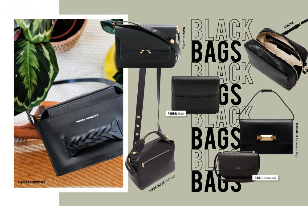 Black Crossbody Bags Blog Hanna Schumi