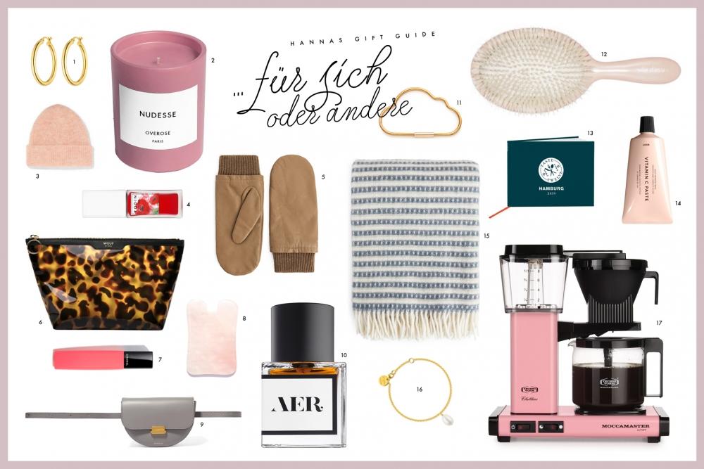 Gift Guide Geschenke für Dich und mich