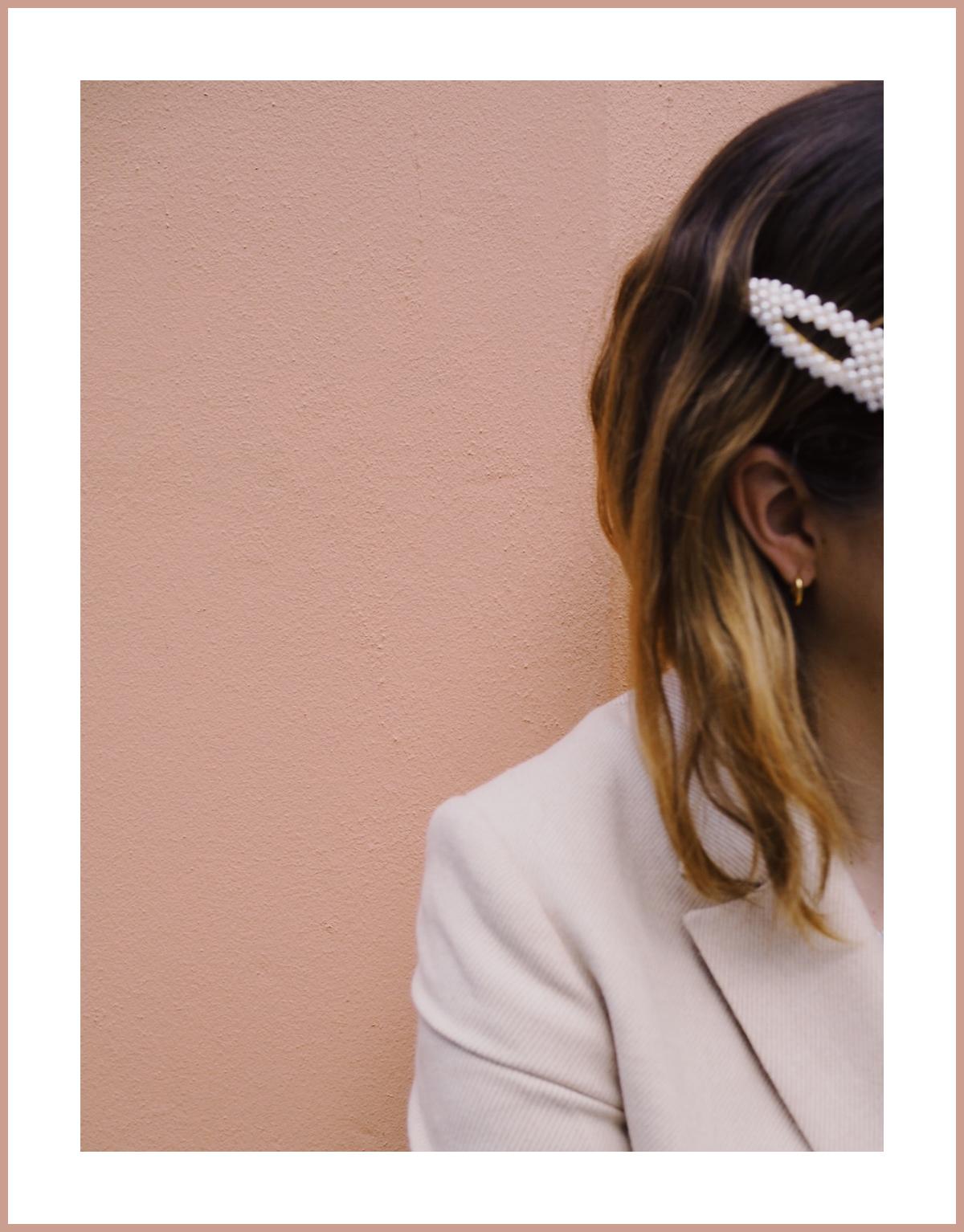 Perlen Haarspange