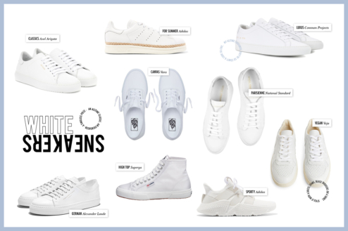Günstige Garment Project High Top Weiß Sneaker High Für
