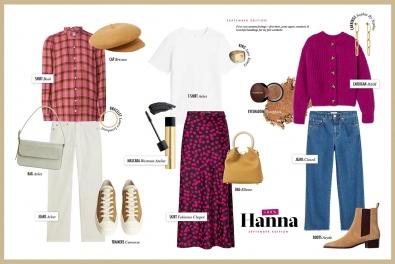 Hanna Schumi Collage Inspiration Herbst