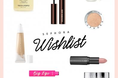 Recap & Wishlist Sephora Deutschland