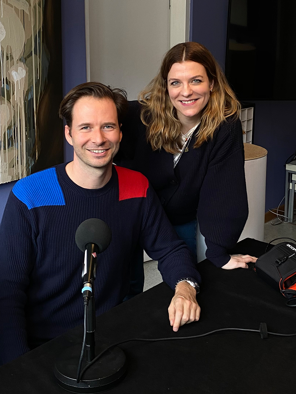 Hanna Schumi Gepflegte Gespräche Beauty Podcast Team Dr. Jospeh