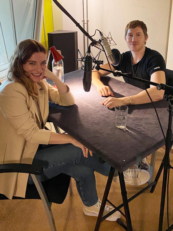 Gepflegte Gespräche Podcast Hanna Schumi - Folge Fabian Hart