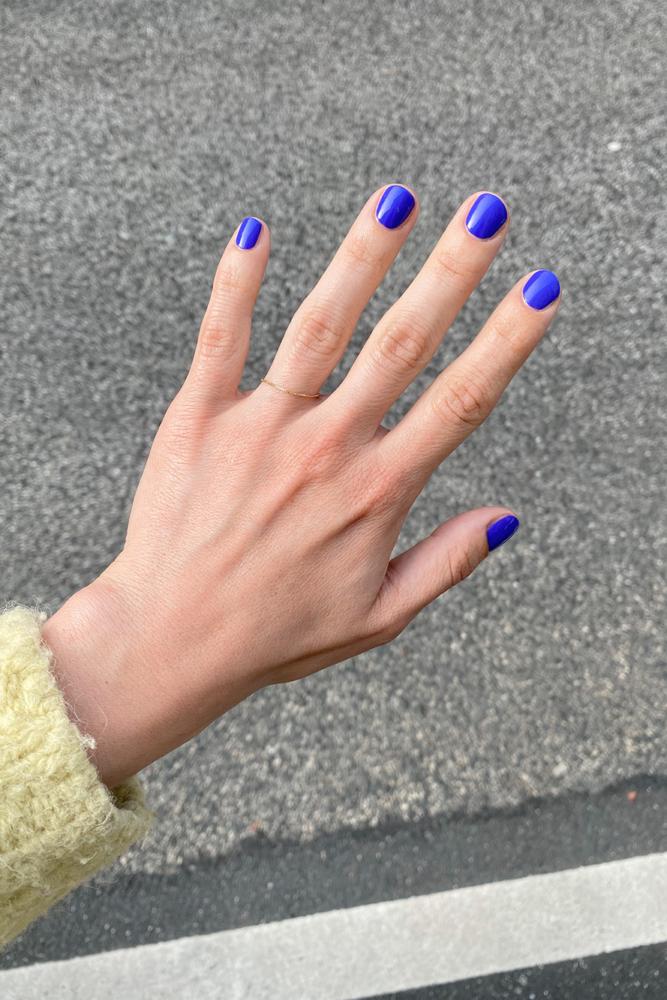 Terre et beaute Nagellack blau