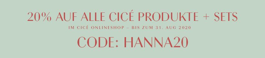 Cicé beautyprodukte Code 20%