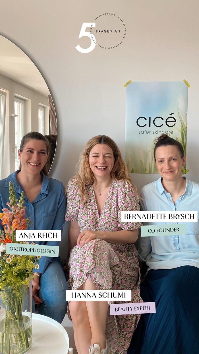 5 Fragen an Cicé Hamburg Skincare